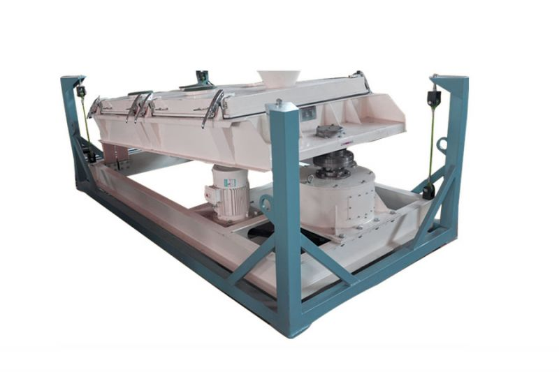 SFJH series rotary vibrating screen